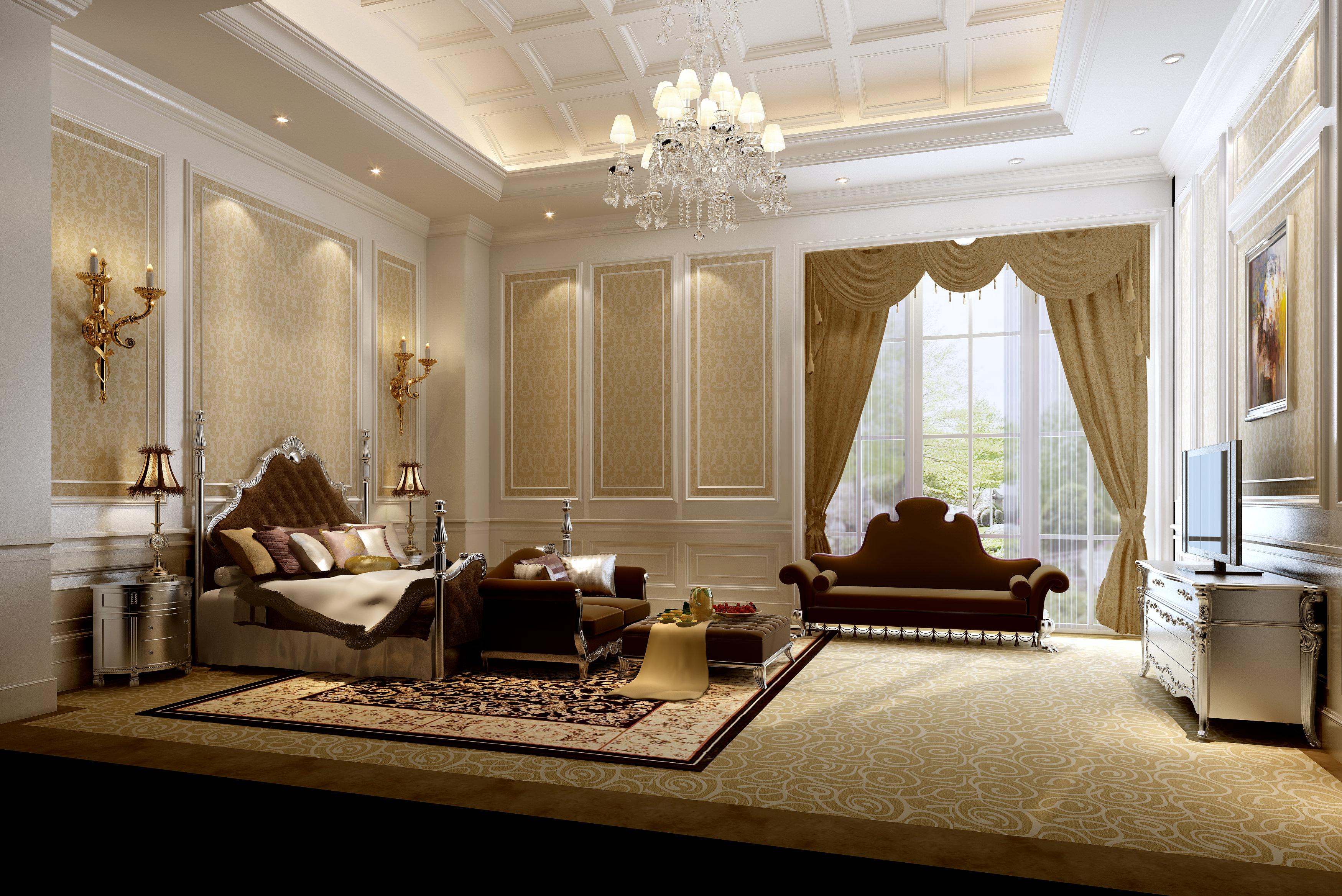 Model Bedroom very luxury bedroom 3d model | cgtrader