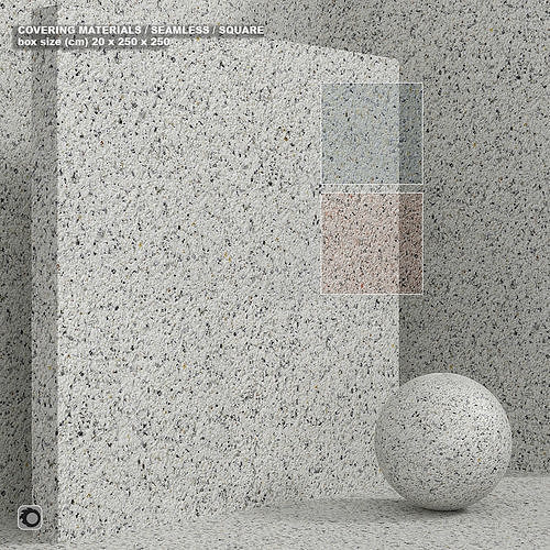 Material - seamless stone composite quartzite