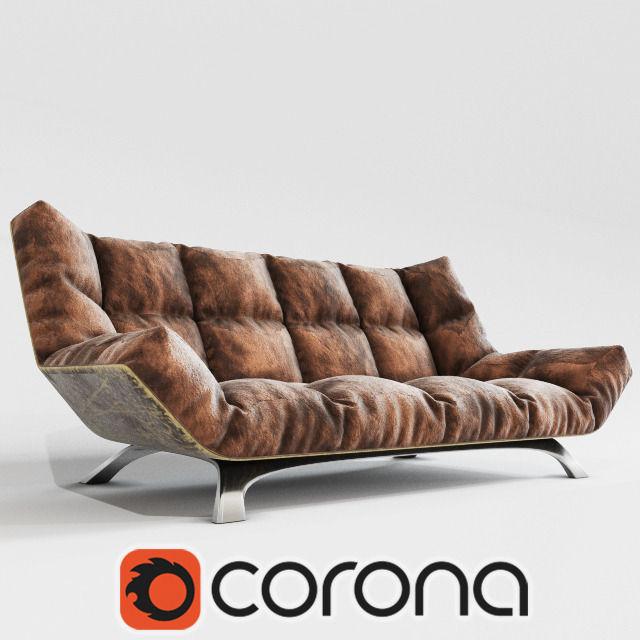 ... Sofa Corona 3d Model Max Fbx 2 ...