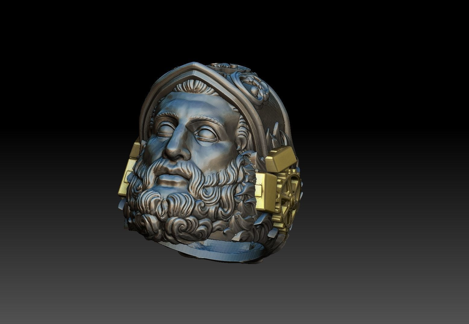 Hephaestus Greek god ring