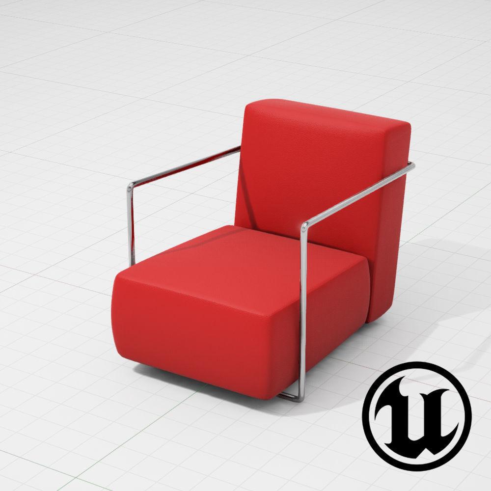Flexform ABC Chair UE4