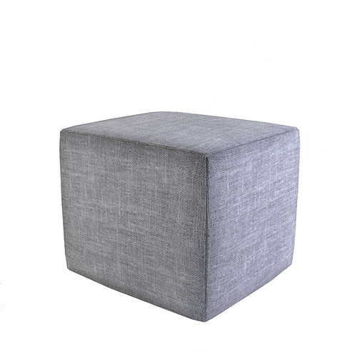 pouffe 3d model low-poly obj 3ds fbx mtl 1