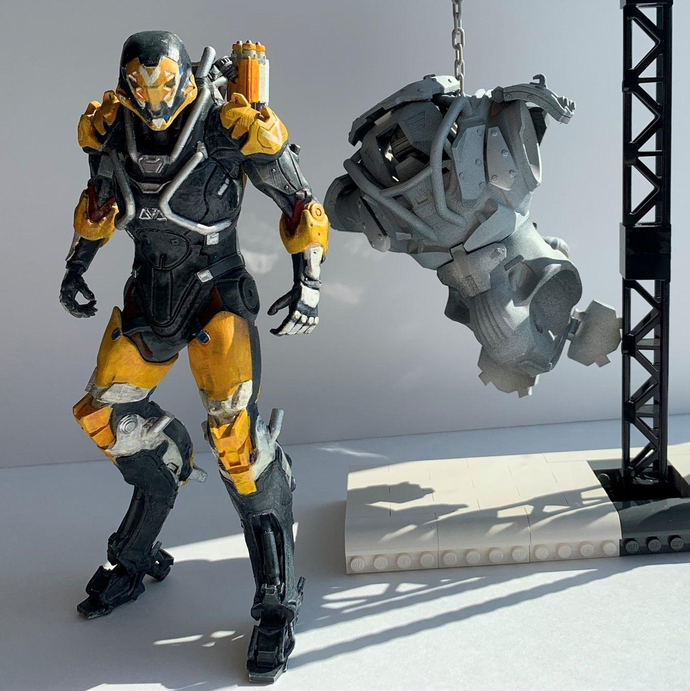 Anthem Ranger Javelin And Colossus 3d Printable Model