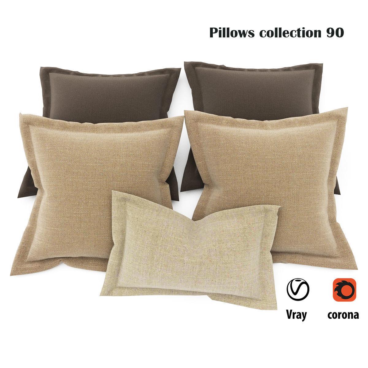 Pillows collection 90