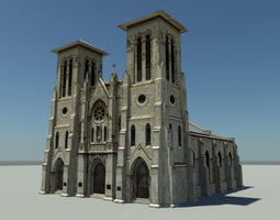 3D asset Cathedral