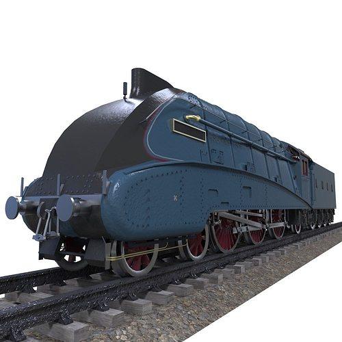 Mallard train 3D asset   CGTrader Mallard Train Toy