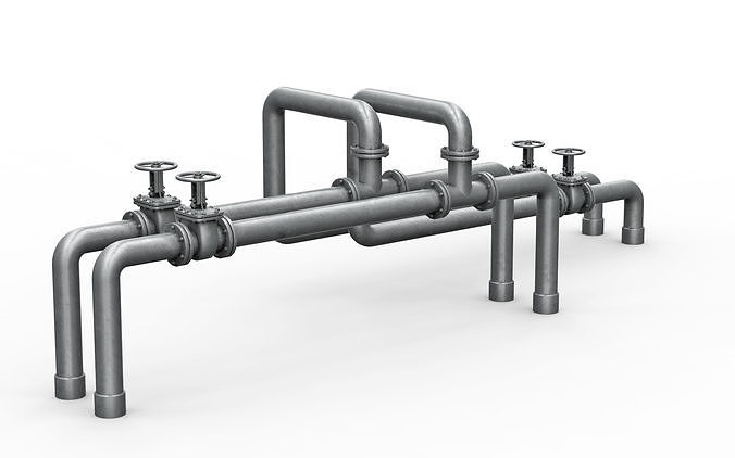 Industrial pipe assembly