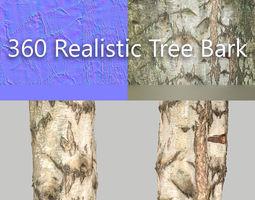 360 Tree Bark 6 3D asset