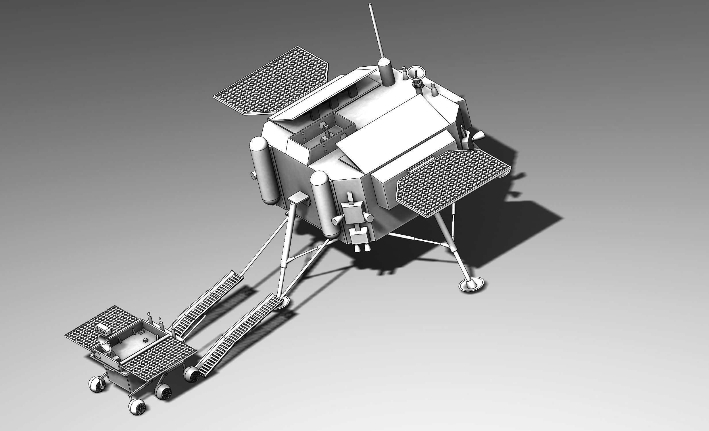 Chinese Jade Coney Lunar Rover System