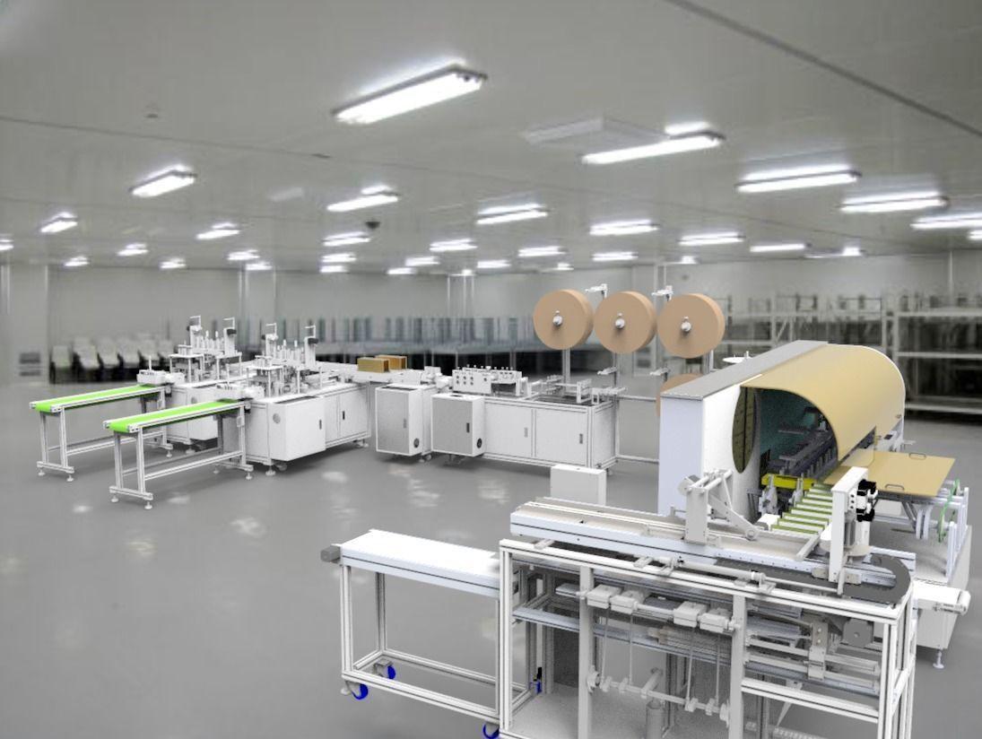 Mask machine Assembly