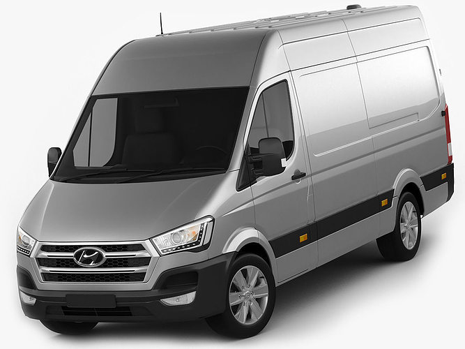 3d Model Hyundai H350 Panel Van 2015 Cgtrader