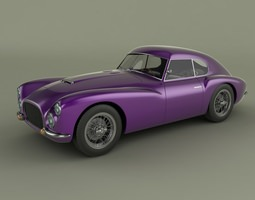 fiat 8v otto vu 3d model max obj 3ds