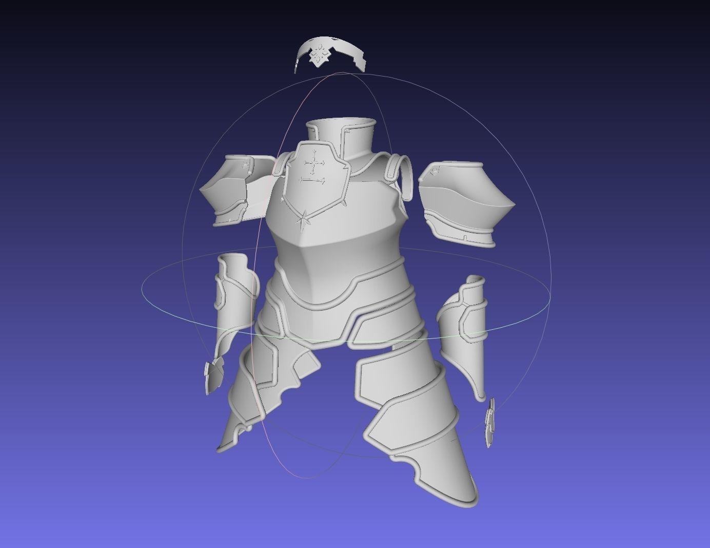 Sword Art Online Alicization Integrity Knight Armor Set