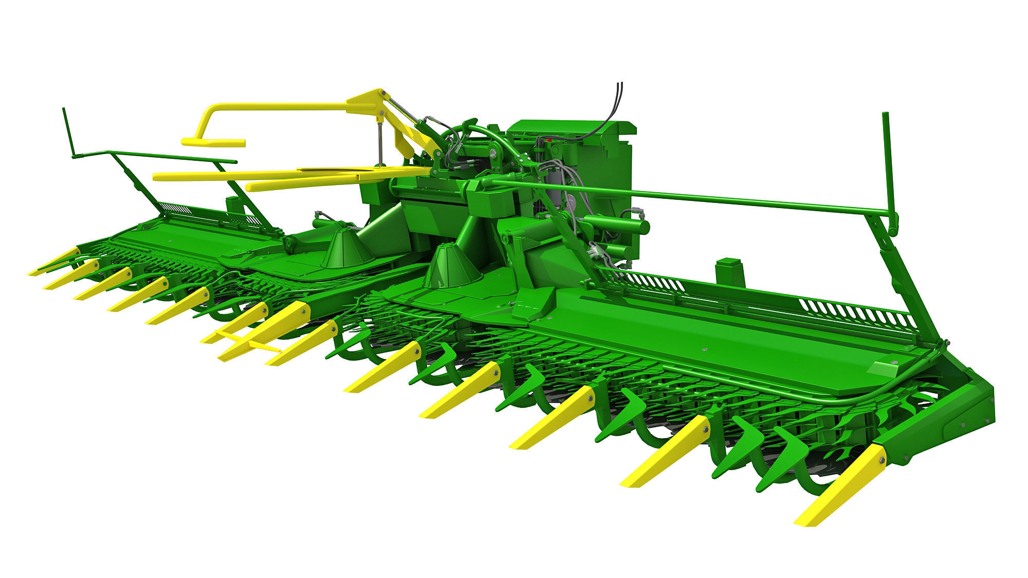 Harvester Threshing Header