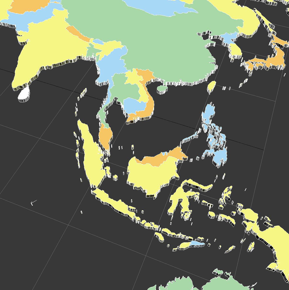 3d political world map cgtrader political world map 3d model max obj 3ds mtl tga 10 gumiabroncs Images