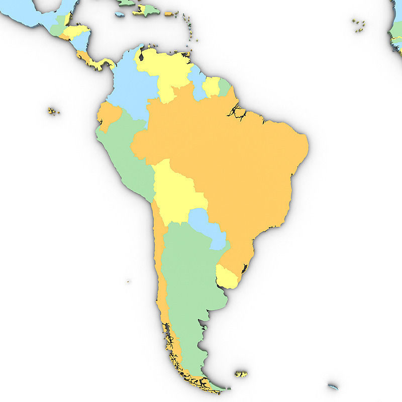 3d political world map cgtrader political world map 3d model max obj 3ds mtl tga 2 gumiabroncs Choice Image