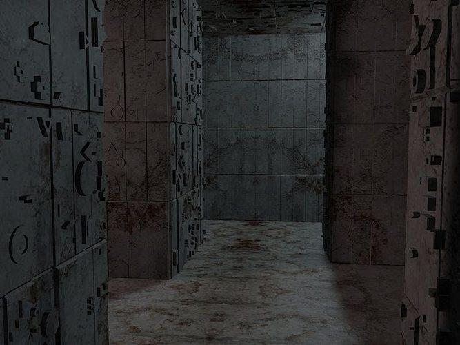 sci-fi labyrinth 3d model 3ds fbx c4d blend dae 1