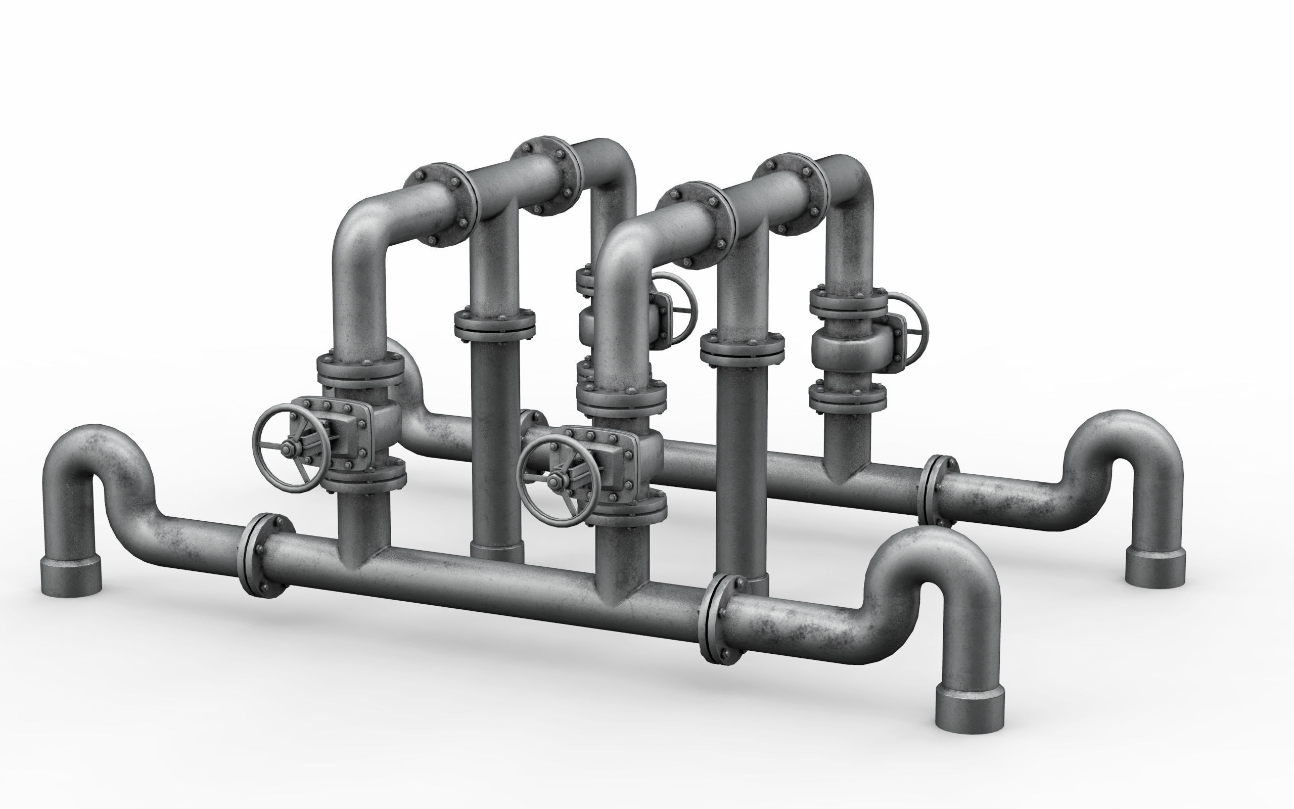 Industrial pipe assembly v4
