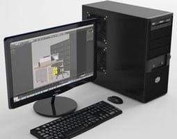 3D model Personal Computer