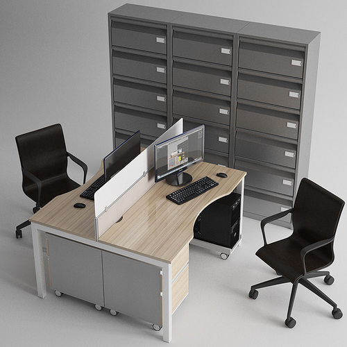 3D model Office Furniture monitor | CGTrader