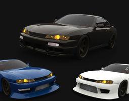Nissan Silvia S14 Tuning 3D Model
