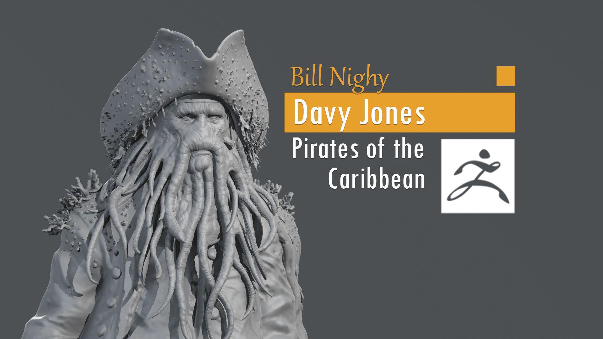 Bill Nighy - Davy Jones - Pirates of the Caribbean