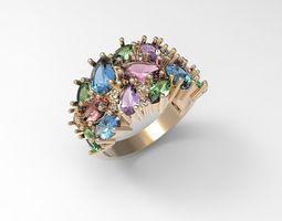 3D print model Ring Precious shine STL