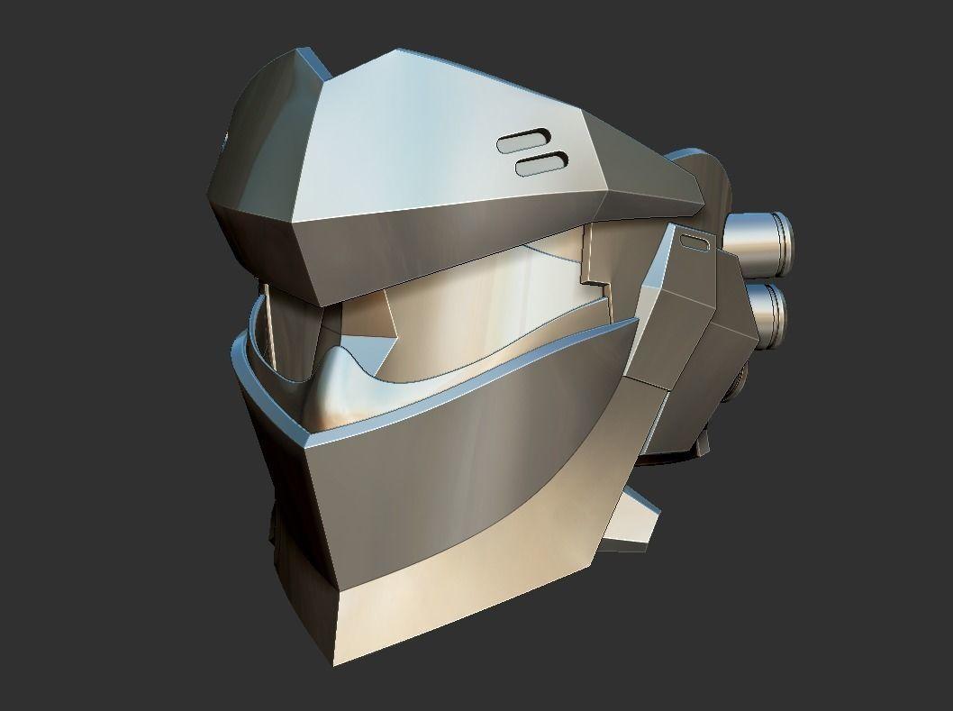 Blackwatch Genji helmet