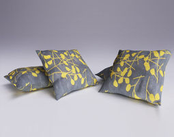 3D model Contemporary Cushion