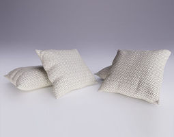 Contemporary Cushion 3D model
