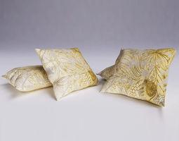 contemporary cushion 07 3d