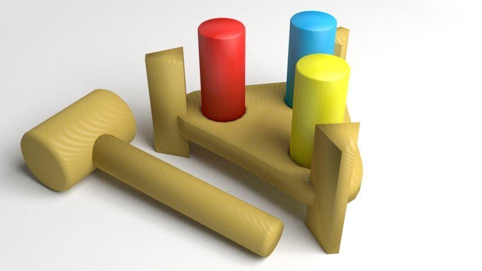 Pinboard Toddler Toy