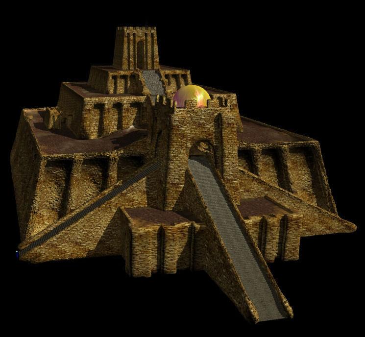 Ziggurat 3d Model Max 1