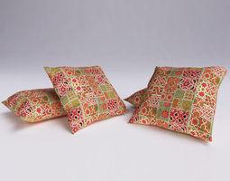 moroccan cushion 07 3d