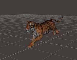 ultimate tiger rigged 3D Model