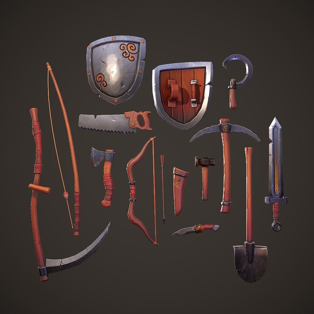 Stylized PBR Tools Pack
