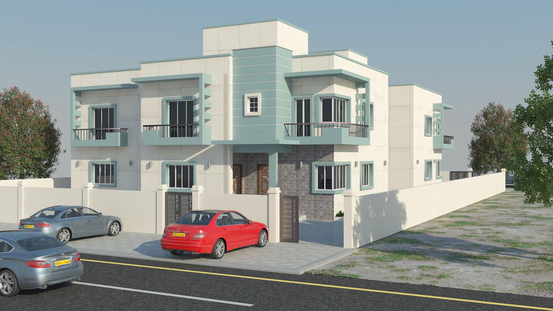 beatifull house free V / / low-poly 3D Model M Grader.com - ^