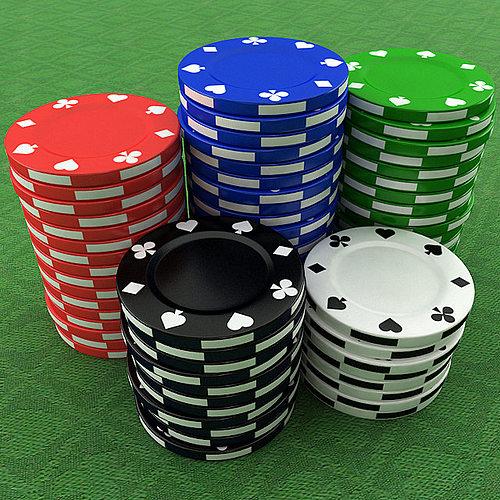3d casino poker chips cgtrader. Black Bedroom Furniture Sets. Home Design Ideas
