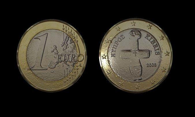 1 Euro Coin - Cyprus