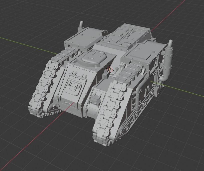 Sci-fi Transport army of humanityt old