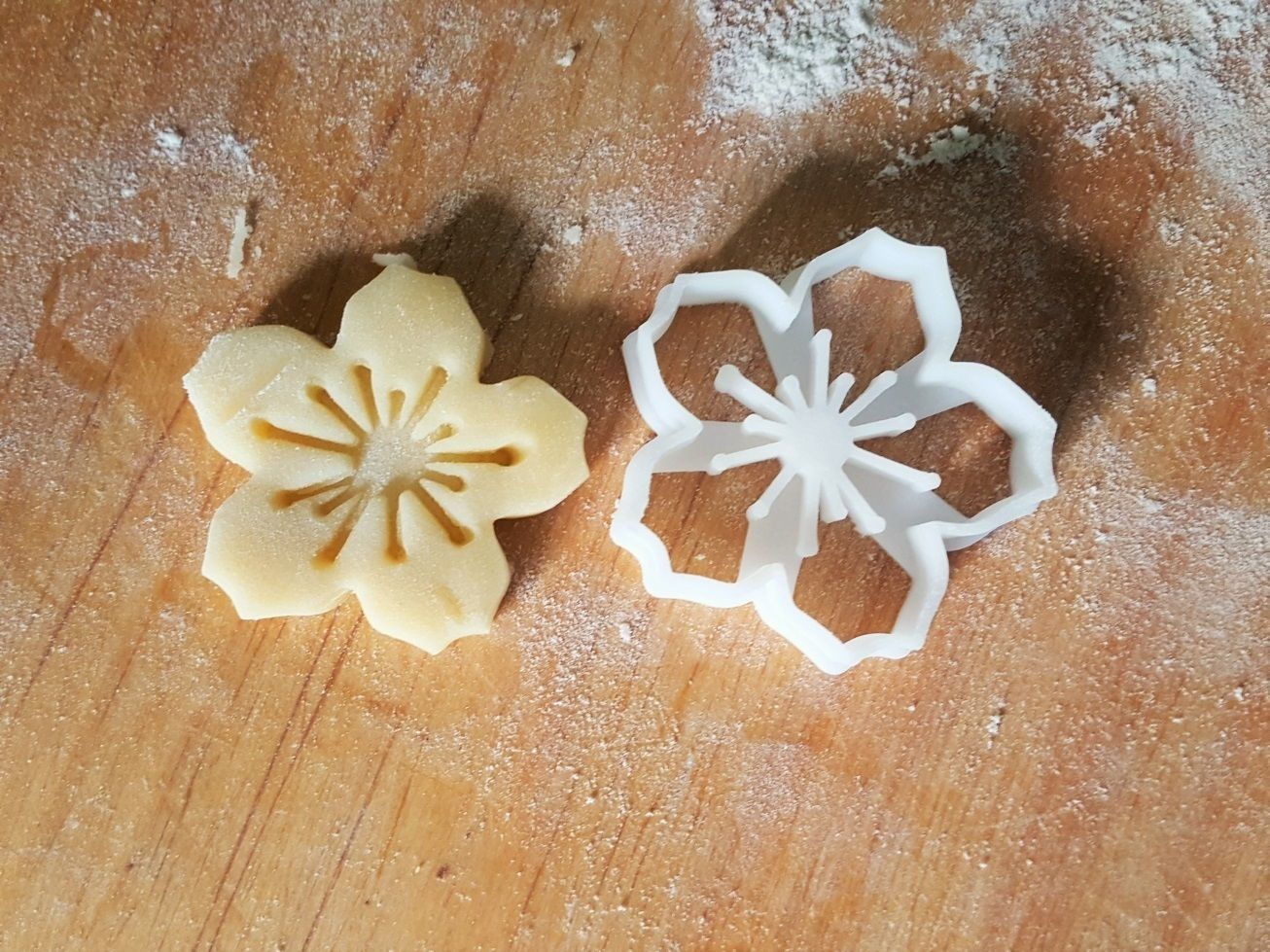 Cherry Blossom cookie cutter