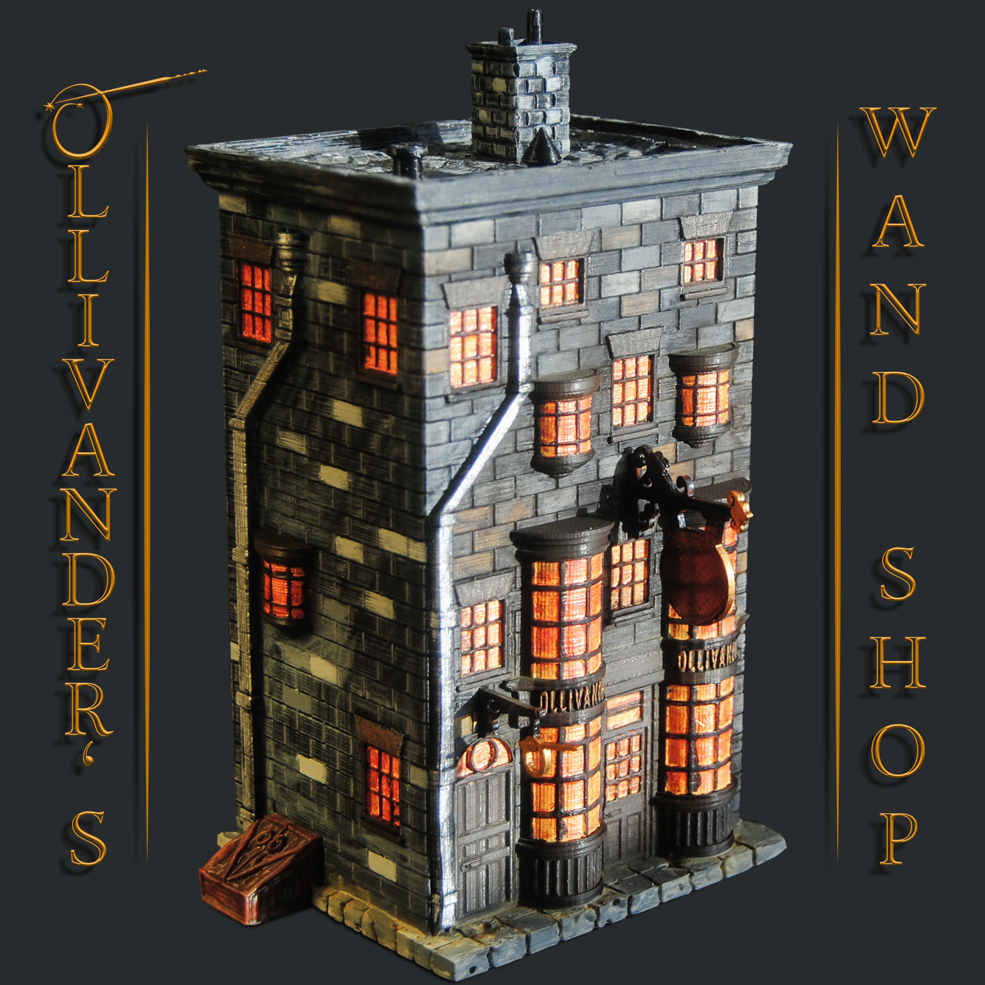Ollivanders Wand Shop - Diagon Alley - Harry Potter