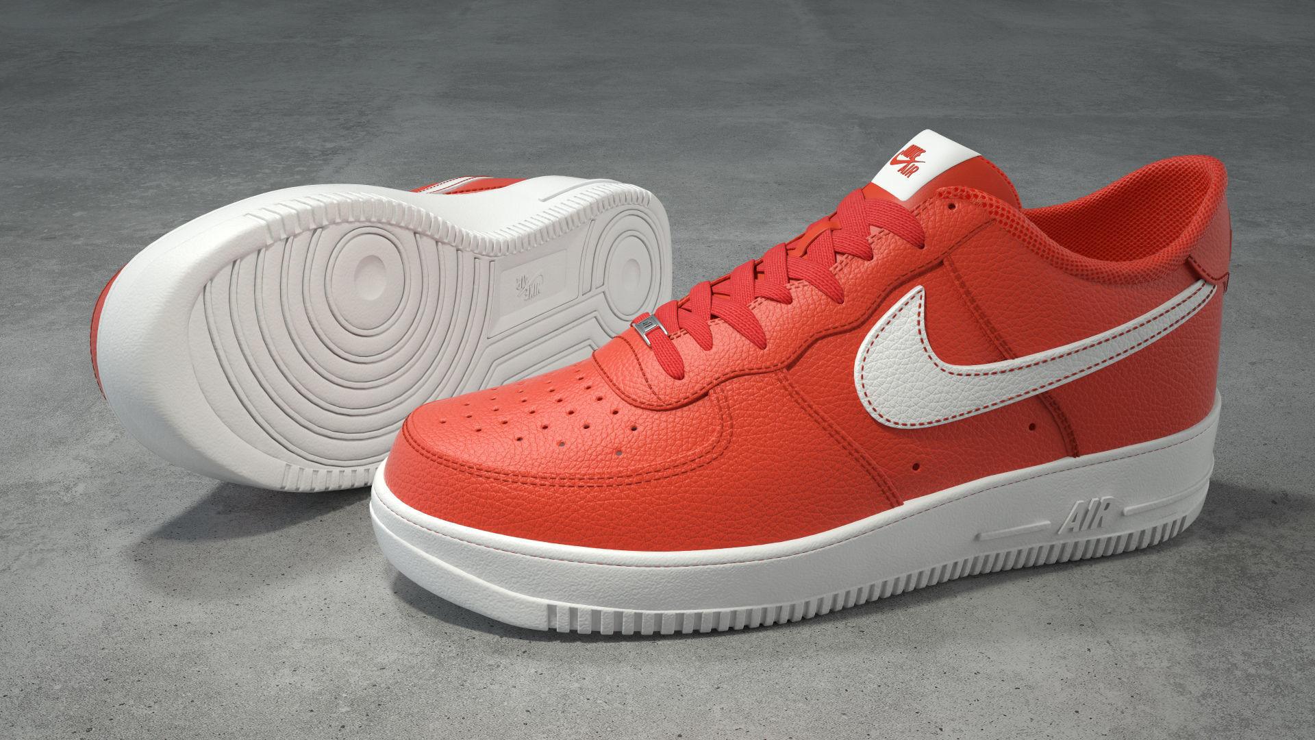Nike Air Force 1 low team orange