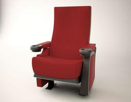 3D model realtime cinema chair