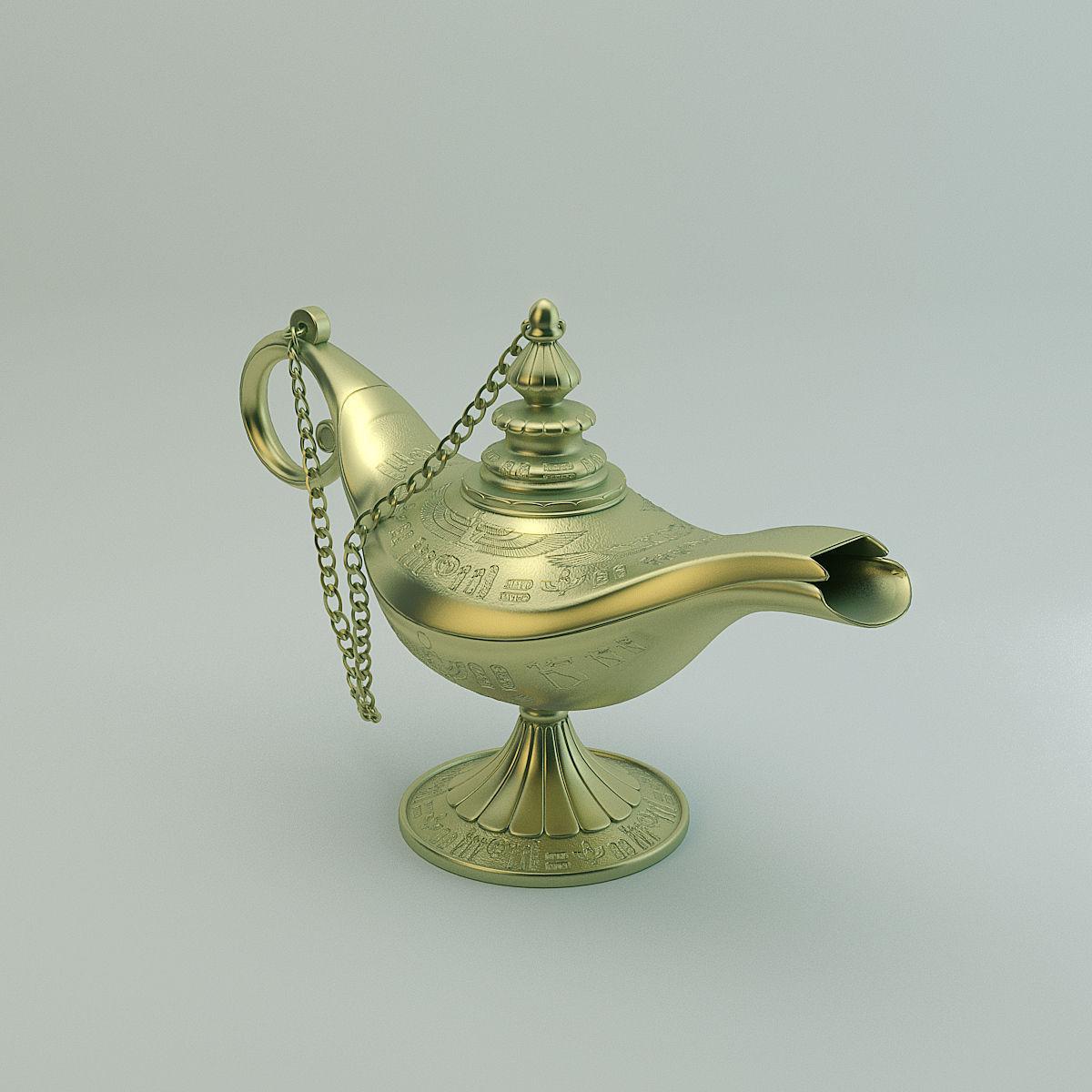 Aladdin Lamp | 3D model