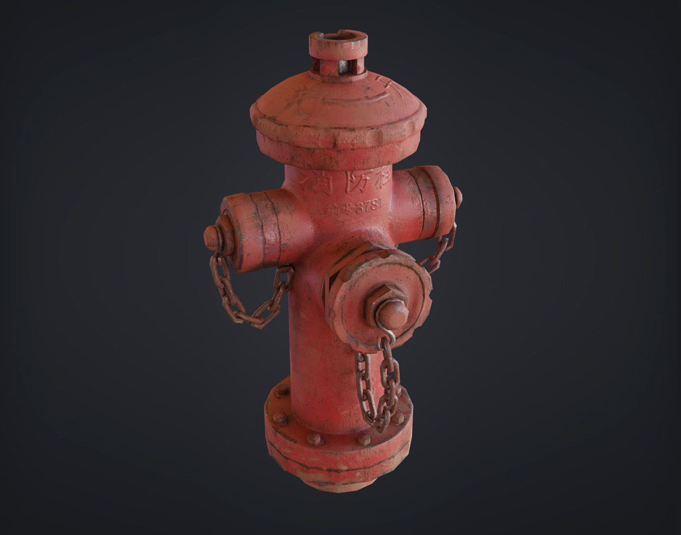 Fire Hydrant - Chinese Style Design