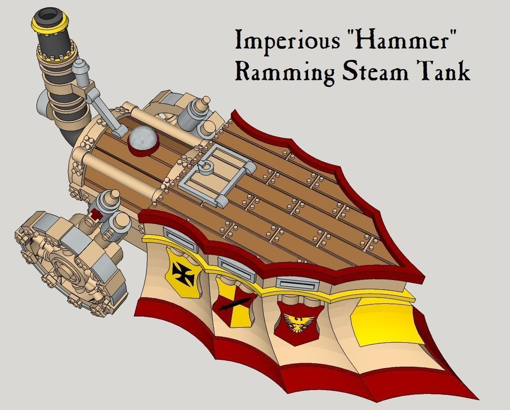10mm Imperious Hammer Steam-Tank