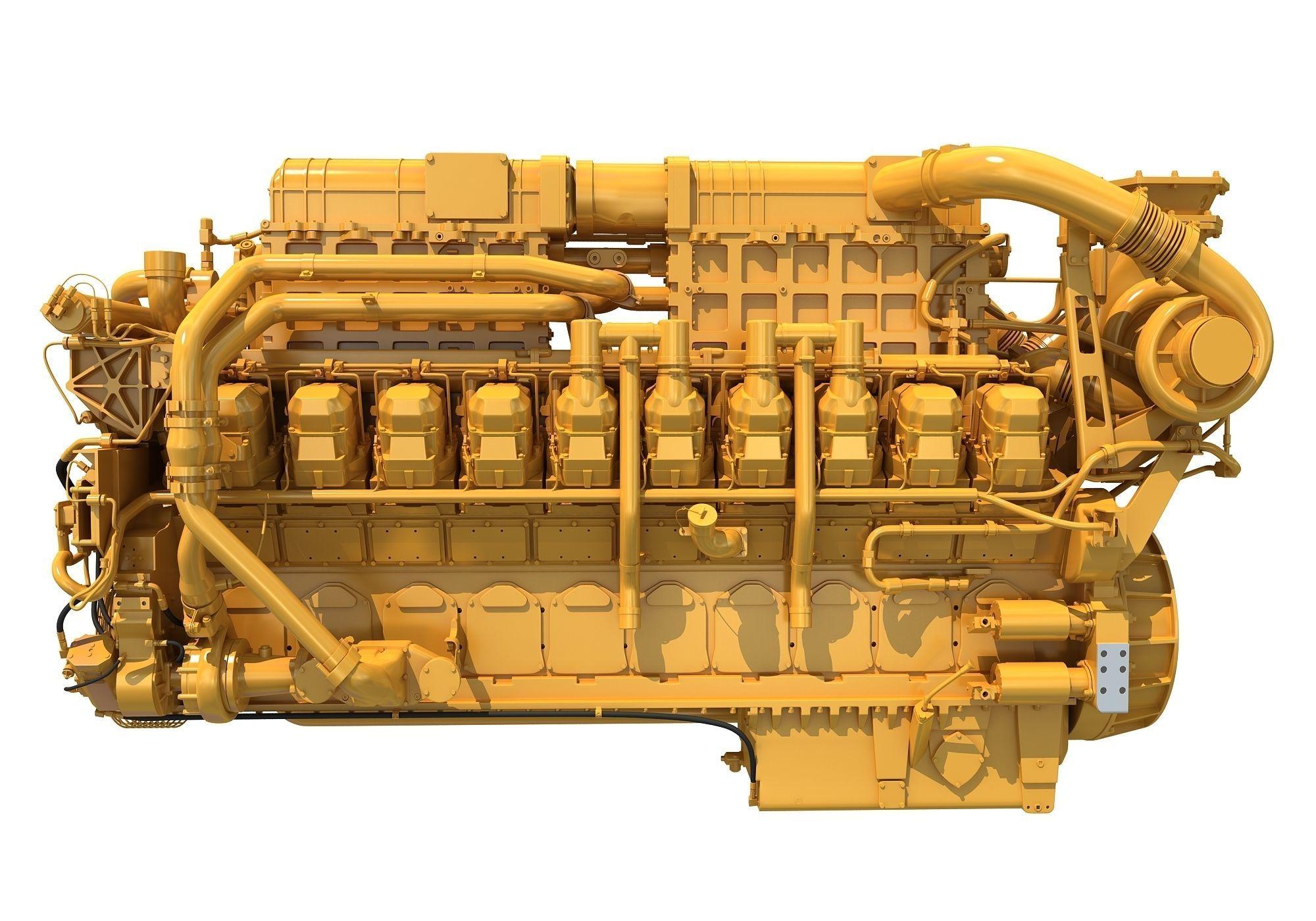20 Cylinders Engine