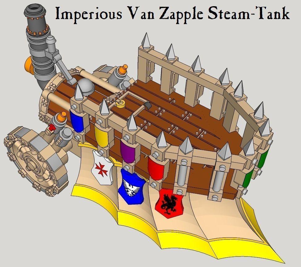 10mm Imperious Von Zapple Steam-Tank