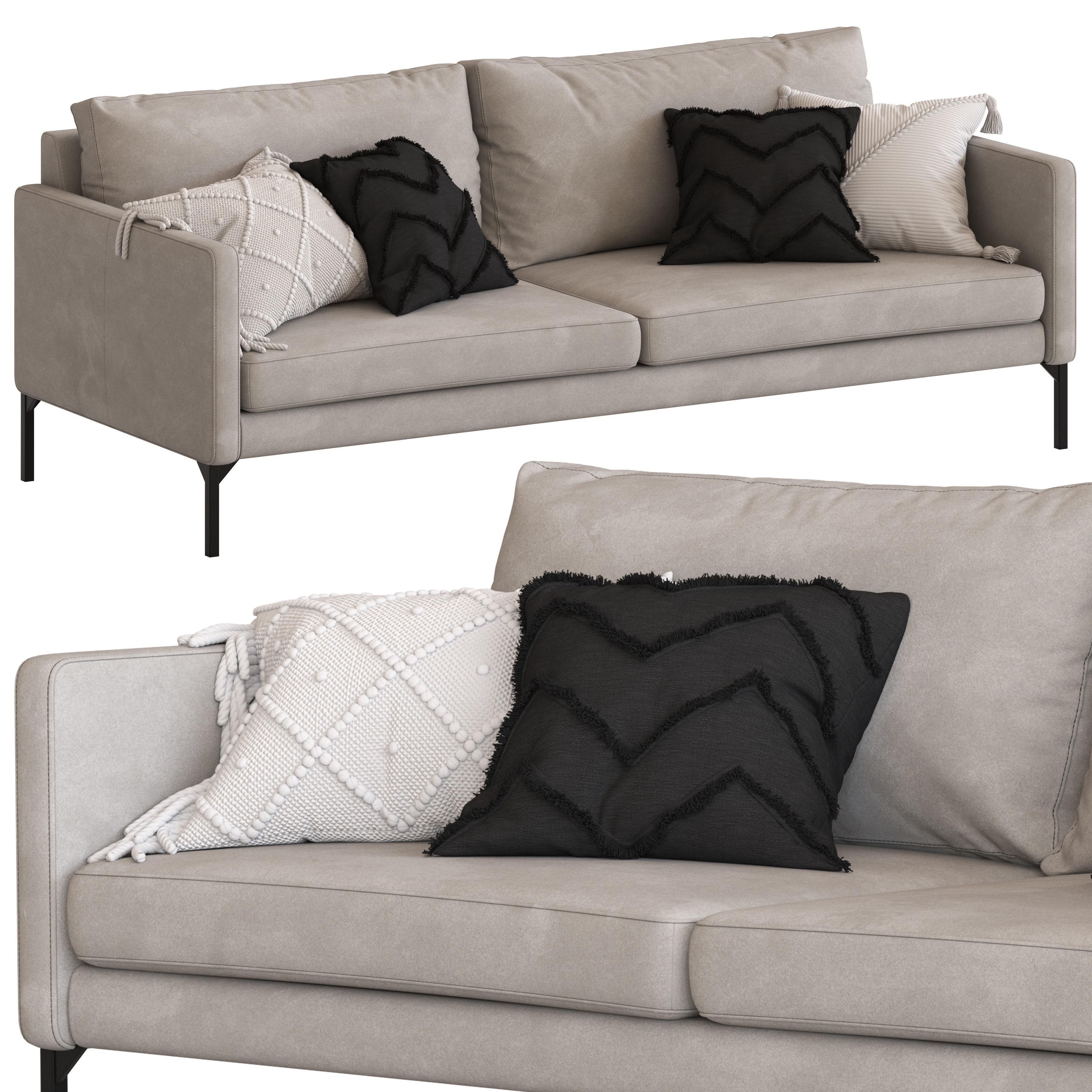 Globewest Bogart 3 Seater Sofa Model